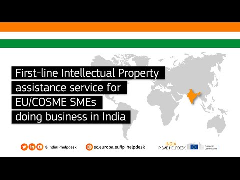 India IP SME Helpdesk - First line Intellectual Property advice for SME doing business in India