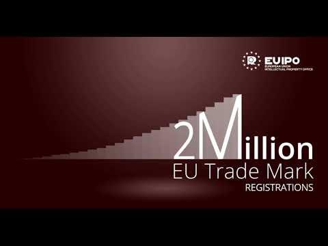 The EUIPO reaches 2 million EU Trade marks registrations