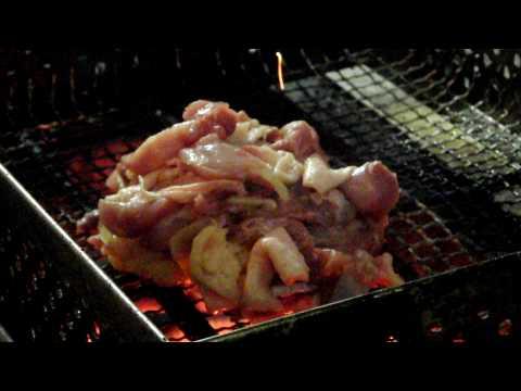 宮崎 炭火焼 地鶏もも焼き