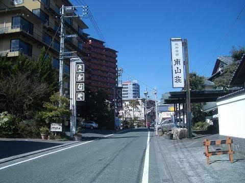 伊豆 長岡温泉の風景(2014年3月22日撮影)静岡県伊豆の国市