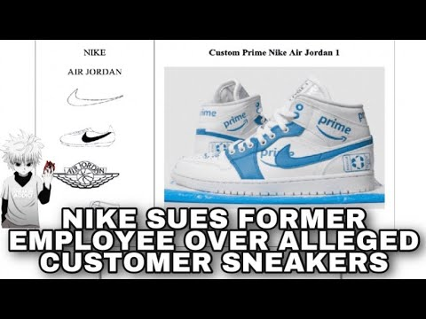 Nike Is Suing a Former Employee Allegedly for Infringing Customized Footwear , Are They Hypocrites