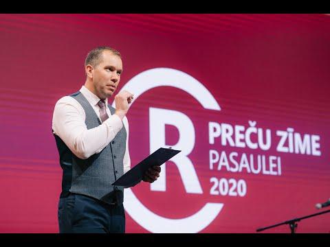 """Konkursa """"GADA PRECU ZIME 2020"""" apbalvošanas ceremonijas atskats"""