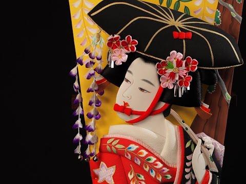 江戸押絵羽子板〜東京の伝統工芸〜日本の職人