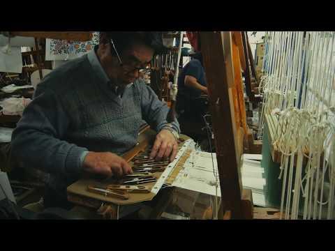 手技TEWAZA「西陣織」Nishijin ori weaving/伝統工芸 青山スクエア Japan traditional crafts Aoyama Square