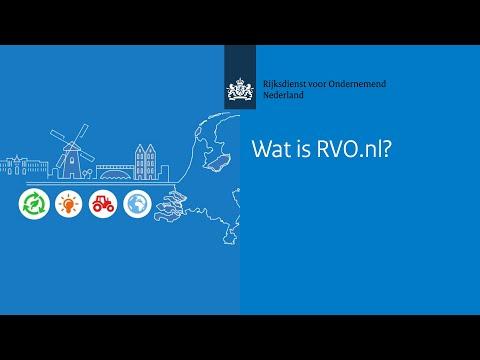 Wat is RVO?