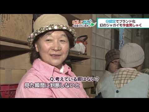 10月5日放送 北海道食の王国 ①今金男しゃく