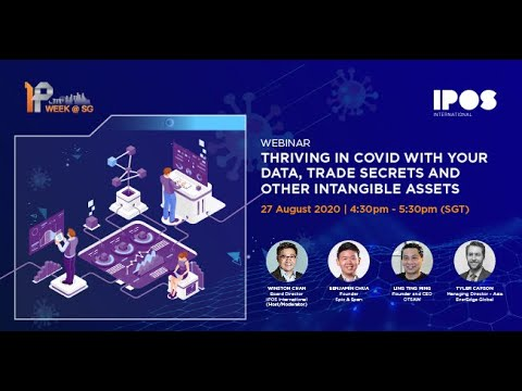 Webinar - Thriving in COVID with Your Data, Trade Secrets and Other Intangible Assets
