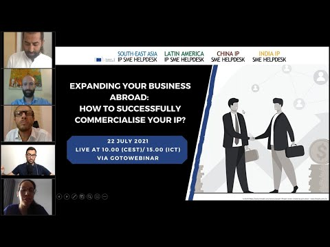 Expanding your business abroad - How to successfully commercialise your IP?