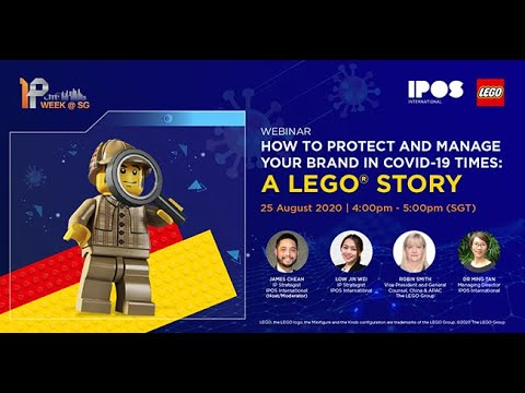 Webinar - How to Protect and Manage Your Brand in COVID 19 Times: A LEGO® Story