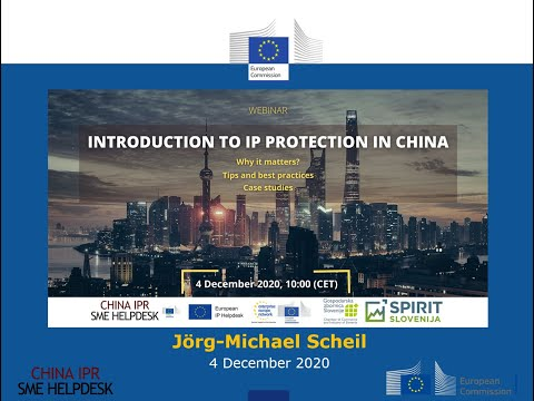 Introduction to IP Protection in China