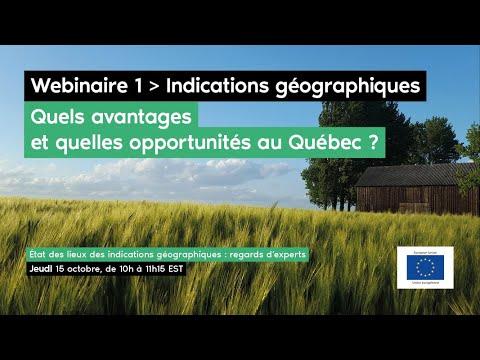 État des lieux des indications géographiques: regards d'experts