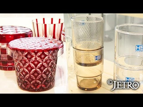 【JETRO】世界で輝く! 東京発のグラス ‐明治創業の老舗企業に学べ‐