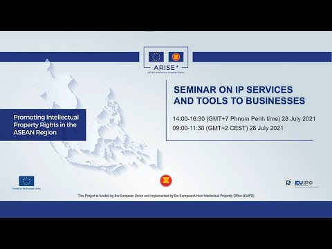 Seminar on IP Services and Tools to Businesses in Cambodia - ARISE+ IPR