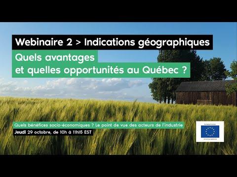 Indications géographiques - Quels bénéfices socio-économiques?