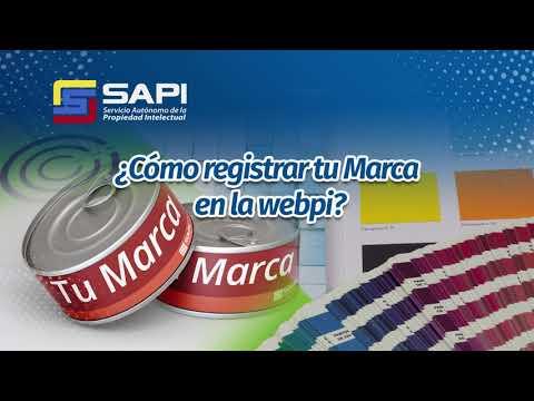 ¿Sabes cómo registrar tu Marca en Webpi?