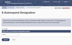 E-subsequent designation